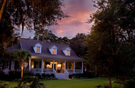 Real Estate Photography House At Sunset