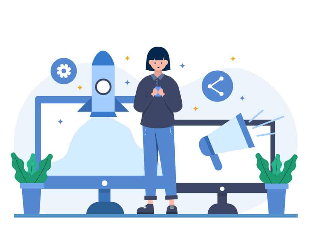 Digital Marketing Blurb Illustration Scaled