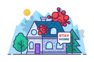 Stay Home Illustration Scaled