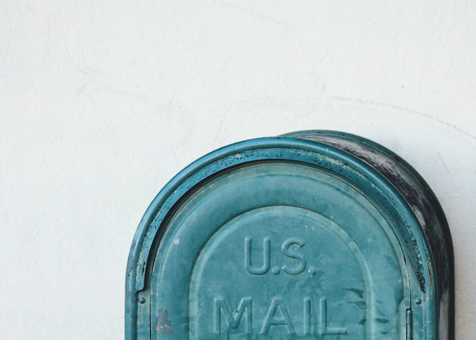 Mail Drop Bin Top