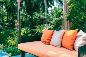Pillow On Sofa Furniture Decoration Outdoor Patio