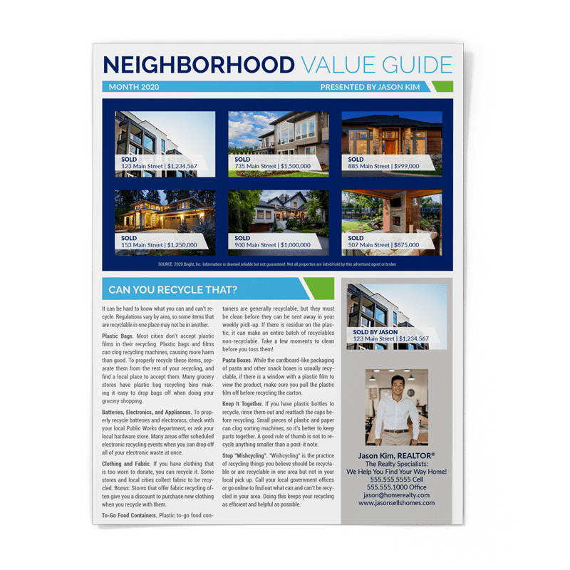 Neighborhood Value Guide