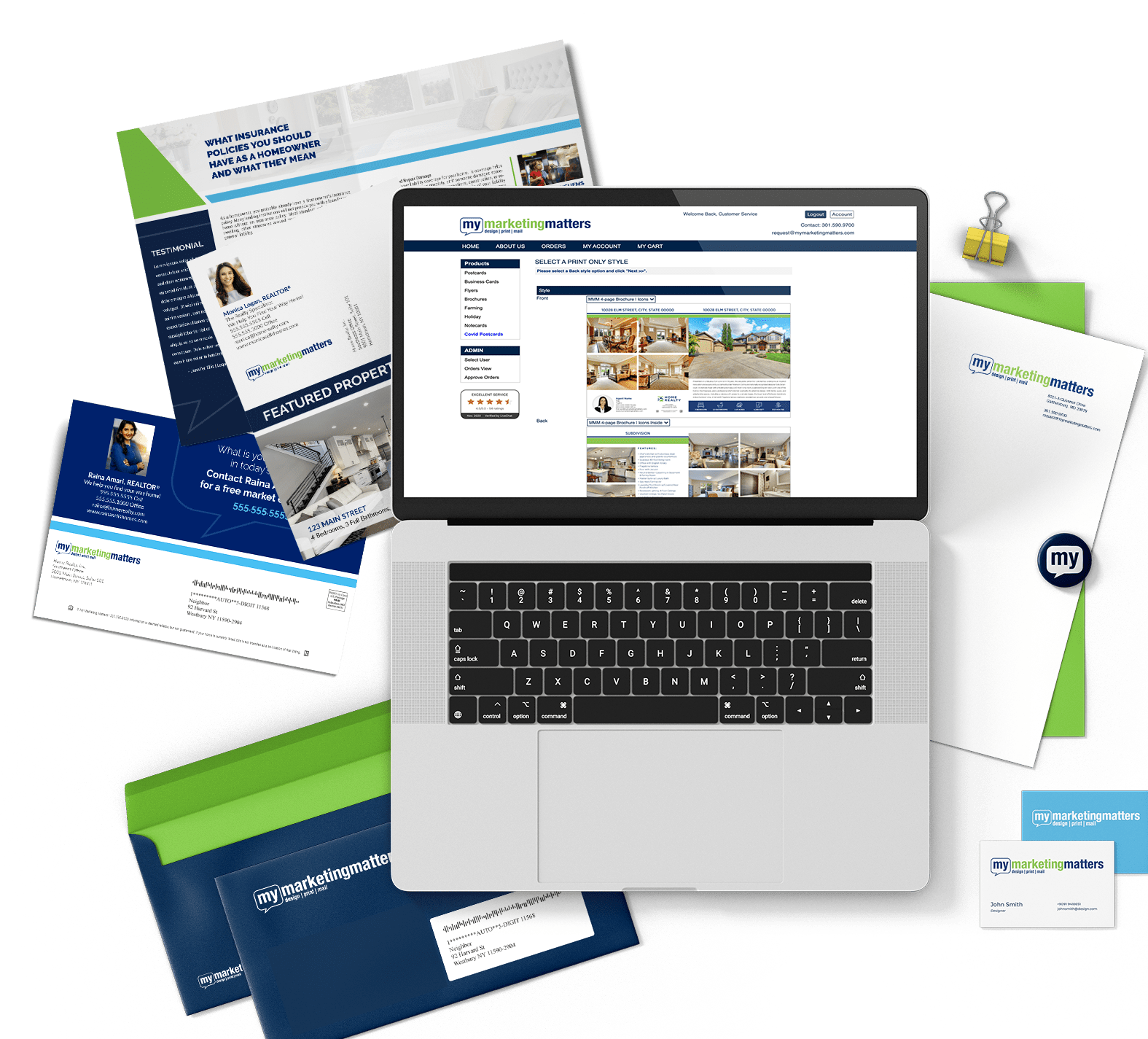 Direct Mail Marketing Materials Real Estate