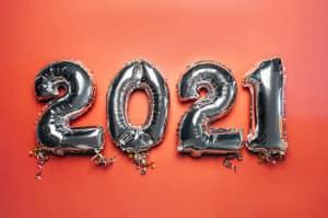 Balloon Bunting New Year 2021 Ex7xcul