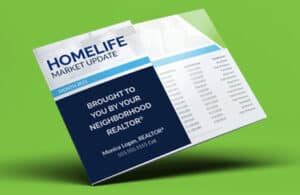 Direct Mail Marketing Strategy Homelife Postcard