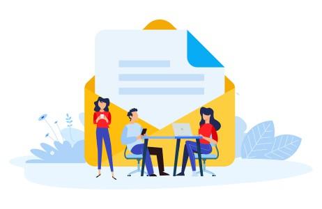 Direct Mail Marketing Strategy Marketing Team