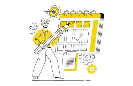 Real Estate Marketing Strategies Calendar